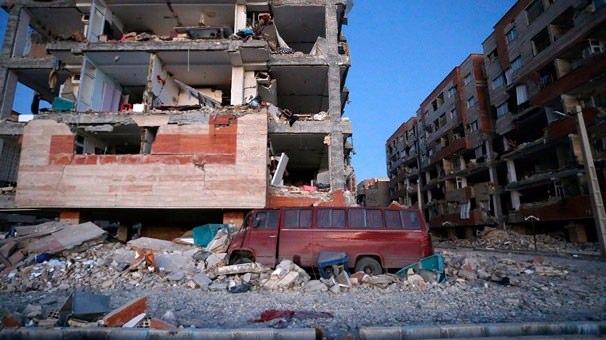 Irak'ta ki Depremin yüzü gün ağarınca ortaya çıktı