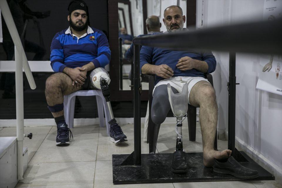 Protez merkezi Suriyelilere umut oluyor