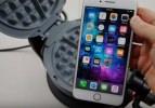 iPhone 8'i waffle makinesiyle test ettiler