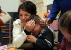 Ünlüler Suriyeli sığınmacıları ziyaret ettiler..
