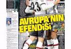 Beşiktaş'ın tarihi zaferi manşetlerde!