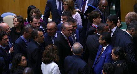 Cumhurbaşkanı Erdoğan'dan ABD'de üst üste görüşmeler