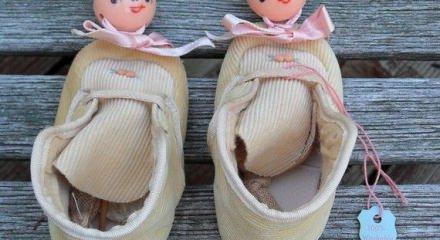 Vintage bebek ayakkabısı modelleri