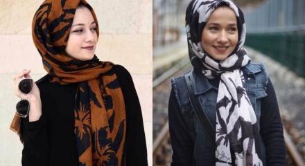 Tesettürde 'Palmiye' modası