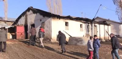 '17 büyükbaş hayvanın ateşe verildiği' iddiası