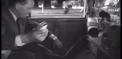 1951'de Rolls Royce konforu