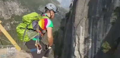 240 metreden atladı