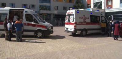 29 öğrenci hastanelere kaldırıldı!