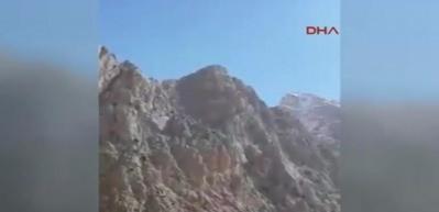 4 teröristin öldürüldüğü çatışmadan sıcak görüntüler