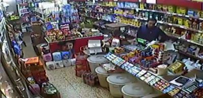 5 büyüklüğündeki deprem market kamerasında!