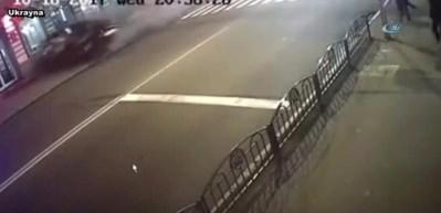 6 kişinin öldüğü kaza kamerada!