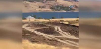 Tunceli Karayolu'ndaki düdüklü tencereli bomba böyle imha edildi