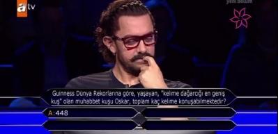 Aamir Khan, 'Kim Milyoner Olmak İster'e katıldı