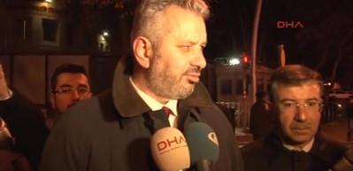 ABD Büyükelçiliği önünde 'Kudüs' eylemi