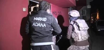Adana'da büyük operasyon: 13 gözaltı