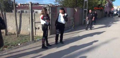 Adana'da polise ateş açıldı