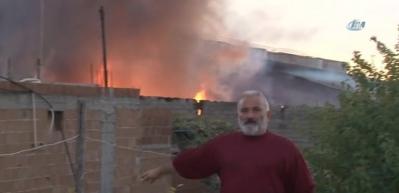 Adana'da yağ deposunda yangın!