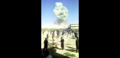 Afganistan'da bomba yüklü tankla intihar saldırısı