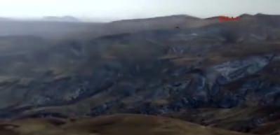 Ağrı'da 4 teröristin etkisiz hale getirildiği operasyondan sıcak görüntüler