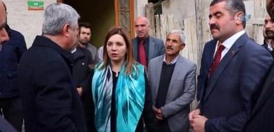 Alevi vatandaşların kapılarının işaretlendiği mahallede birlik ve beraberlik mesajı