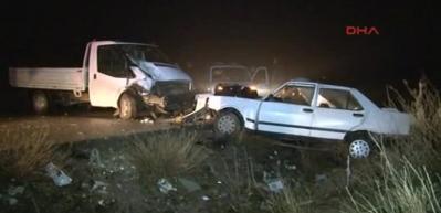 Ankara'da kaza: 2 ölü, 5 yaralı