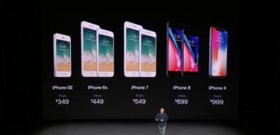 Apple iPhone 8, Apple Watch Series 3 ve iPhone X'i tanıttı
