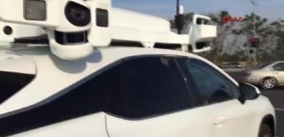 Apple'ın sürücüsüz aracı 'Project Titan' test için yollarda
