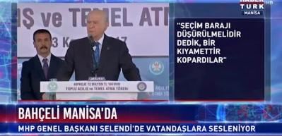Bahçeli: AK Parti ile mücadelemizi sürdüreceğiz!