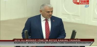 Başbakan Binali Yıldırım TBMM Genel Kurulu'nda konuştu