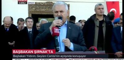 Başbakan Şırnak'ta