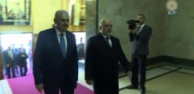 Başbakan Yıldırım, Iraklı mevkidaşı ile telefonda görüştü
