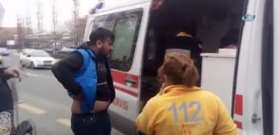 Başkent Adliyesi önünde 'döner bıçaklı' saldırı: 1 yaralı