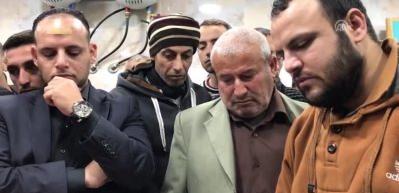 Batı Şeria şehitlerini uğurladı