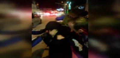 Beşiktaş'ta dilenci kadını yakalayan zabıtalar şok oldu