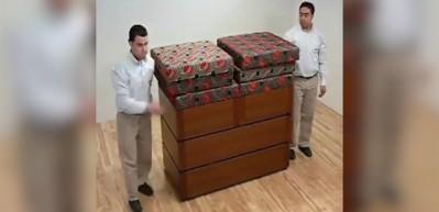 Bu kanepe tam 15 farklı şekilde kullanılabiliyor!