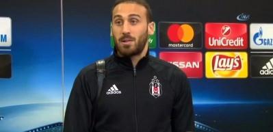 """Cenk Tosun: """"Şu anda sadece Beşiktaş için mücadele ediyorum"""""""