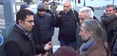 Çorlu'da çevik kuvvetten basın açıklaması tedbiri