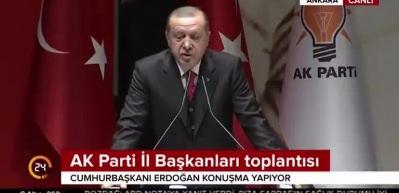 Cumhurbaşkanı Erdogan: Burayı YPG'den temizlememiz gerek