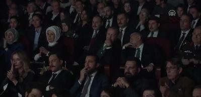 Cumhurbaşkanı Erdoğan, 'Kut'ül Amare' dizisinin galasına katıldı