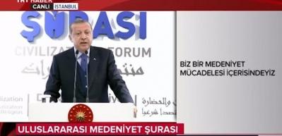 Cumhurbaşkanı Erdoğan'dan Trump'a önemli mesaj