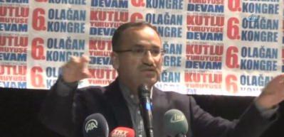 """""""DSP, ANAP, MHP hükümeti bir tünel yapmayı beceremediler"""""""