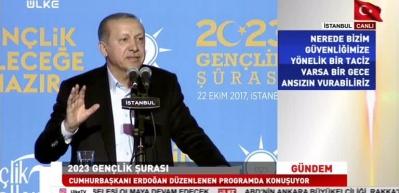 Erdoğan: Biz kalbi selim sahibi bir gençlik istiyoruz