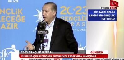 Erdoğan: Bizler bu yola koltuk sevdasıyla değil, hizmet sevdasıyla çıktık