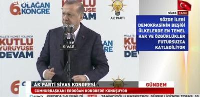 Erdoğan: Ey İsrail! Bu milletin geçmişinde soykırım yoktur