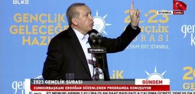 Erdoğan: Gençlerden beklentimiz memur olmakla değil, girişimci olmakla ilgilenmeleridir