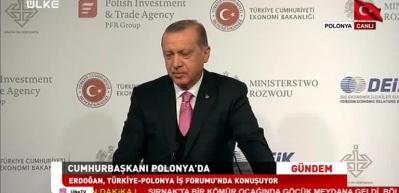 Erdoğan: İş adamlarımızı Polonya'ya yatırım yapmaya davet ediyorum