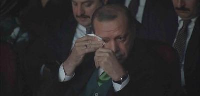 Erdoğan, Kut zaferi hikayesinde gözyaşlarını tutamadı