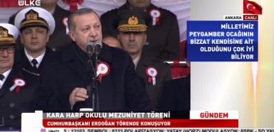 Erdoğan: Ordumuza kimsenin musallat olmasına izin vermeyiz