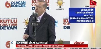 Erdoğan: Trump'ın açıklaması bizim için 'yok' hükmündedir