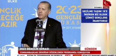Erdoğan'dan gençlere Şeyh Edebali nasihati